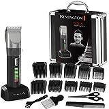 Remington HC5810 Haarschneider Genius, selbstschärfende Keramikklingen, 10 Aufsteckkämme, schwarz