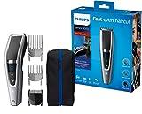 Philips HC5630/15 Haarschneider Series 5000 mit 28 Längeneinstellungen, 3 Kammaufsätzen und Turbo Modus