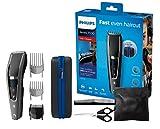 Philips HC7650/15 Haarschneider Series 7000 mit 28 Längeneinstellungen, 3 Kammaufsätzen und Friseur-Set