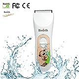 Wasserdichte ultra-leise USB wiederaufladbare Baby Haarschneider Cordless Haarschneider Professionelle Haarschnitt für Erwachsene Kinder