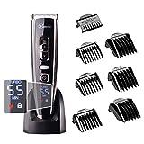 Hatteker Profi Haarschneider Herren Haarschneidemaschine Elektrischer Männer Haartrimmer Wasserdicht Haarscherer Präzisionstrimmer Akku- und Netzbetrieb Wiederaufladbare USB