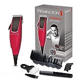 Remington Haarschneidemaschine HC5018 (netzbetriebener Haarschneider, 5 Aufsteckkämme 3-18mm, hochwertige, selbstschärfende Stahlklingen, 0,5 mm Präzisionsklinge) elektrischer Haartrimmer Herren