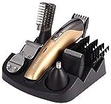 11in1 Haarschneider Rasierer Ohren Bart Nasen Trimmer Haarschneidemaschine Braun
