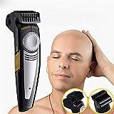 IFANSTYLE Kahler Haar-Rasierer 2 in 1 Haarschneidemaschine & Elektrorasierer 9 Länge Kamm USB-wiederaufladbare spezielle Konstruktion für Glatze