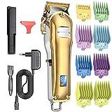 NBPOWER Haarschneidemaschine Profi, Haarschneider Herren Haartrimmer Elektrisch Bartschneider Präzisionstrimmer Langhaarschneider mit LED-Anzeige und wiederaufladbarer für Männer- Wireless Leise