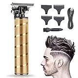 Haarschneidemaschine Profi 0 mm, Haarschneider Herren Elektrisch Haartrimmer, Barttrimmer für Männer,Langhaarschneider Bartschneider Schnurlose,Wiederaufladbar