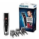 Philips HC7460/15 Haarschneider Series 7000 mit 60 Längeneinstellungen und motorisierten Kämmen,Gris/Noir
